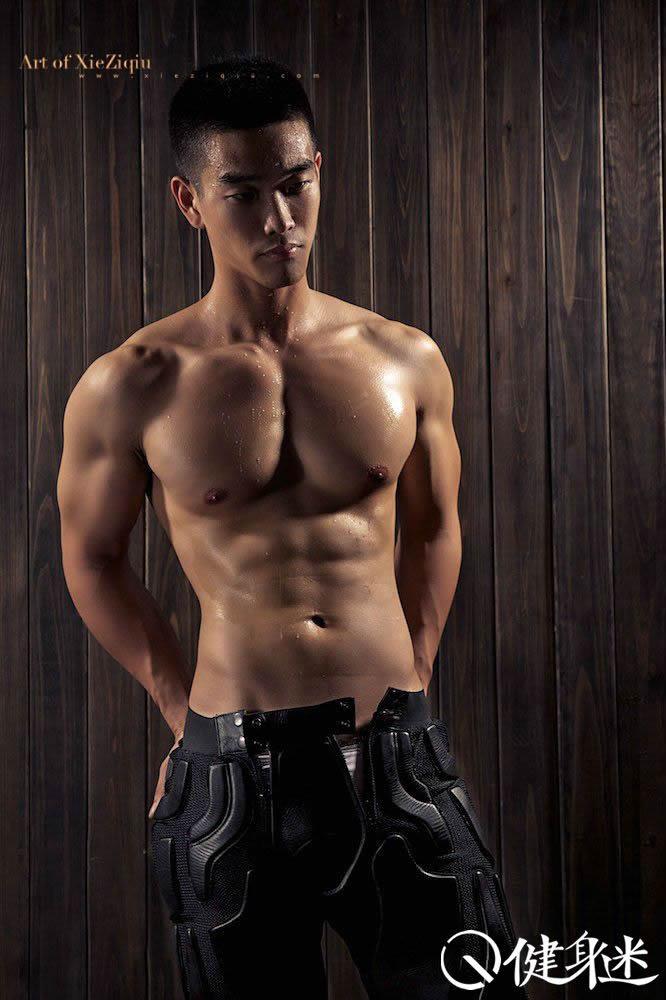 健身男_中国肌肉男照片中国帅哥肌肉男图片 东方帅哥 小鲜肉 健身迷网