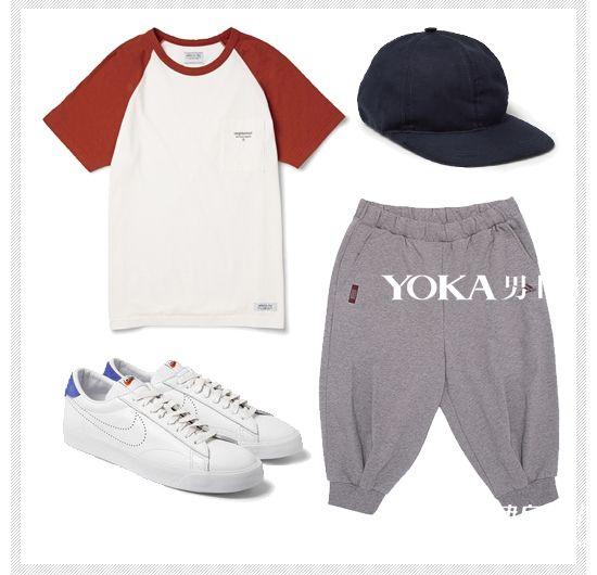 男生去健身房衣服怎么搭配 健身房抢镜的时髦战衣 ...