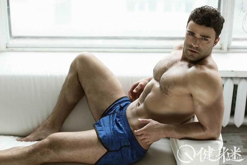 俄罗斯肌肉男模Alexander Krupov Ru图片 内裤男模 russia muscle man